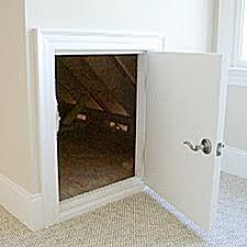Interior Crawl Space Door Dormer Doors Curb Appeal Products