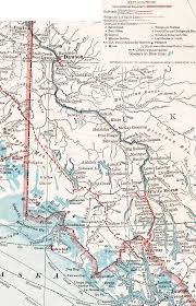 Alaska Route Map by Map Of Juneau Eagle Alaska 1914