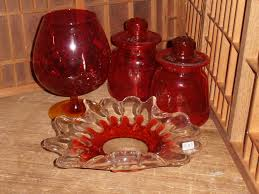 red kitchen canisters glass light up your kitchen with red