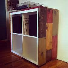 here u0027s an ikea kallax shelving unit i hacked for my new record