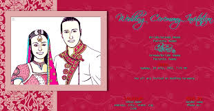wedding invitations online india invitation card indian wedding free wedding india