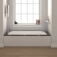 fixtures drop in 54 x 30 soaking bathtub reviews wayfair