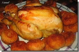 cuisine algeroise sfiriya algéroise ou poulet en sauce accompagné de croquettes de