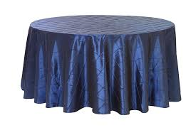 120 round tablecloth fits what size table 120 inch pintuck taffeta round tablecloths navy blue for weddings