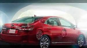 lexus hs hybrid new 2014 red lexus hs250h youtube