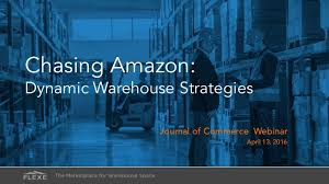 strategy for amazon black friday chasing amazon dynamic warehouse strategies