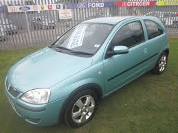 vauxhall corsa blue second hand vauxhall corsa 1 2i 16v energy 3dr for sale in