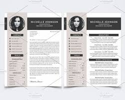 psd resume template resume template for photoshop resume templates creative market