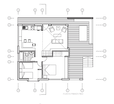 Vacation Cottage Floor Plans Gallery A Vacation House With A Playful Design Matías Silva