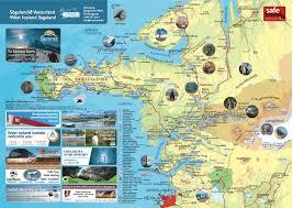 Iceland Map World Vesturland Kort 2017 Visit West Iceland