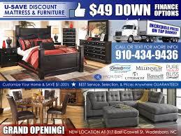 Millennium Home Design Wilmington Nc by U Save Discount Mattress U0026 Furniture U2013 All American Mattress