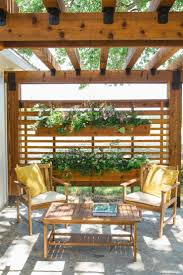 Patio Ideas For Backyard On A Budget by Best 25 Patio Privacy Ideas On Pinterest Backyard Privacy