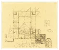 Louis Kahn Floor Plans by Drawing Phillips Exeter Library Exeter Nh Sketch Of Plan With