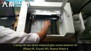 india smart mobile tempered glass screen protector cutting machine