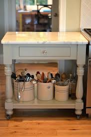 island table for small kitchen putting an island in a small kitchen create this rolling cart with