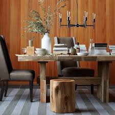 Sofa For Dining Table by Emmerson Reclaimed Wood Dining Table West Elm