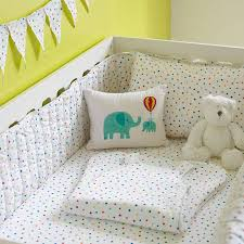 Nursery Cot Bed Sets by Multicolour Star Cot Bed Fitted Sheet By Lulu And Nat