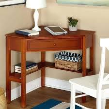appealing dark secretary desks with monitor and urn plus storage