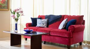 decorating with red leather sectional sofa living room ideas idolza