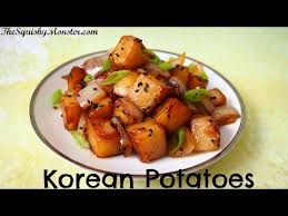 cuisine recipes easy food how to easy potatoes side dish 감자조림