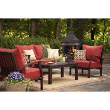 Outdoor Patio Furniture Lowes by Patio Patio Sets Lowes Allen U0026 Roth Gatewood Patio Furniture