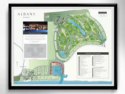 albany map albany community map mike thompson design