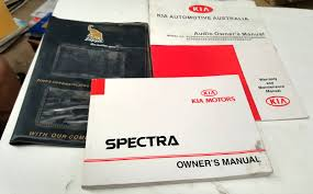 2003 kia spectra owners manual set u2022 aud 29 95 picclick au