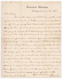 abraham lincoln u0027s famous civil war condolence letter to young