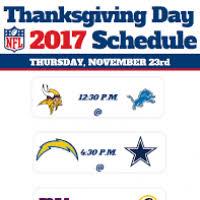 thanksgiving football schedule 2017 divascuisine