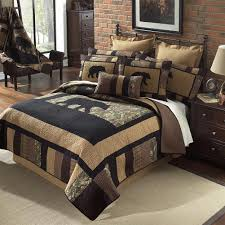 Camouflage Sheet Set Clearance Rustic Lodge Quilt Collection Cabin Place
