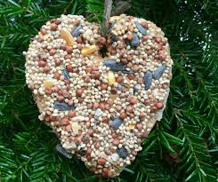 how to make the easiest s day bird seed ornaments