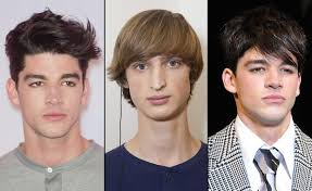 mens medium hairstyles diamond best men s haircut for your face shape