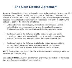 licensing agreement template free sample license agreement template