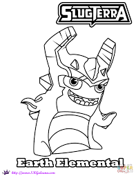 earth elemental coloring page free printable coloring pages