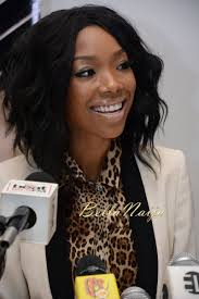 show me a picture of brandys bob hair style in the game exclusive brandy at the classic fm valentine s event press