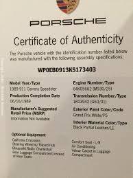 porsche 911 engine number rick cole auctions auction monterey 2016 item 1989 porsche 911