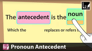 list of synonyms and antonyms of the word antecedent