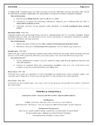 Sample Resume Objectives For Mechanics by Oilfield Resume Objective Examples Free Resume Example And