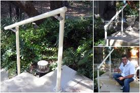 exterior handrails for stairs home design