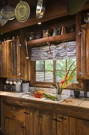 Log Home Kitchen Cabinets - cottage kitchen cabinets log cabin primitive kitchen rustic log