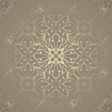 seamless wallpaper with vintage ornament luxury background