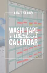 Create Your Own Classroom Floor Plan by Create Your Own Washi Tape Whiteboard Calendar Whiteboard