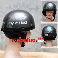 Helm Catok jual helm retro catok grey motif i my bike rodadua net
