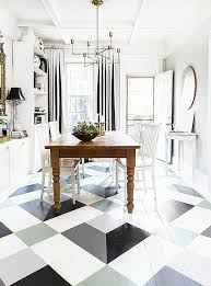 a fantastic painted floor diy you can do in a weekend