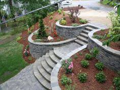 Backyard Ideas For Sloping Yards Retaining Wall Idea Yard Stuff Pinterest Retaining Walls