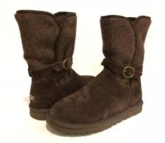 s suede boots australia ugg australia nyla sweater suede boot us 5 eu 36 uk 3 5 stt brown