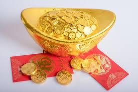 new year gold coins stock image image of coins colored