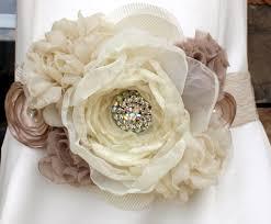fabric flowers wedding wednesday fabric flower belts