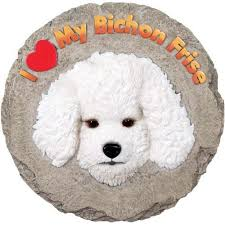 bichon frise desk calendars bichon frise stepping stone wall plaque our price 24 99 let the