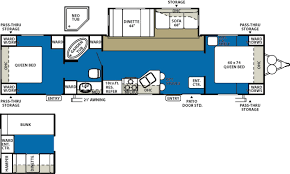 rv bunkhouse floor plans pinnacle fifth wheels inc also 2 bedroom 5th wheel floor 2